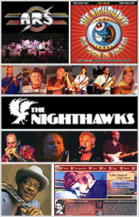 Rolling Storm and Scott Norcross Led Productions with ARS, The Nighthawks, Hubert Sumlin, Little Queenie, The Hubcaps, and others